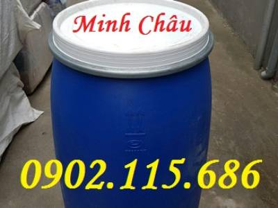 Thùng phuy nhựa 30l,thùng phuy nhựa 50l,thùng phuy nhựa 100l,thùng phuy nhựa 150l,thùng phuy 220L, 3
