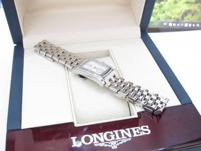 Longines Nữ Mặt Xà Cừ đính kim cương Like new, fullbox giá sale 11