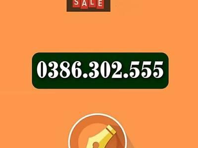 Bán Sim 0386.312.555, 0386.302.555, 0387.613.555, 0387.606.555, 0386.397.555 4