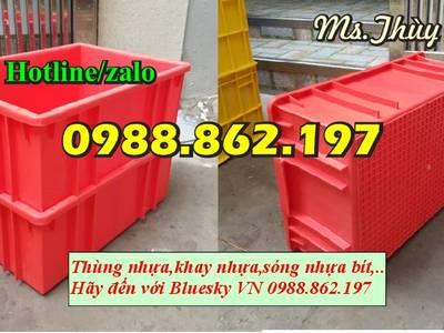 Sản xuất nhựa công nghiêp, thùng nhựa giá rẻ tại Hà Nội, thùng nhựa đặc, sóng nhựa bít, thùng nhựa c 6