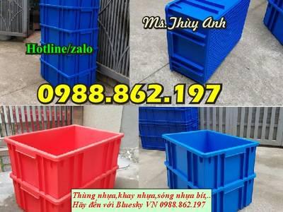 Sản xuất nhựa công nghiêp, thùng nhựa giá rẻ tại Hà Nội, thùng nhựa đặc, sóng nhựa bít, thùng nhựa c 8
