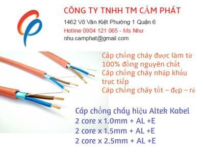 Cáp chống cháy altek kabel, sản phẩm chất lượng cao 2