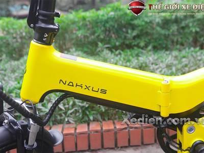 Xe điện gấp Nakxus pin Lithium Ion khung đúc thiết kế nhỏ gọn có thể gấp gọn vừa cốp ô tô 1