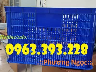 Sọt nhựa đựng hàng, sọt nhựa rỗng cao 39, sọt đựng nông sản 0