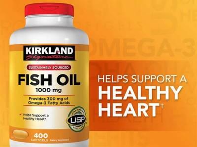 Fish Oil Omega3 - Hàng Mỹ Về 1