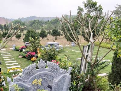Bán lại khuôn viên mộ phần tại nghĩa trang Thiên Đức Vĩnh hằng viên 2