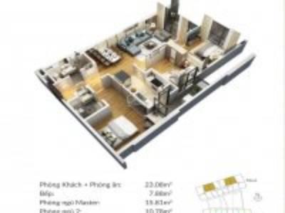 Giá rẻ như cho, căn hộ 3pn Green Pearl 378 Minh Khai 94m2 giá chỉ 3 tỷ. 3