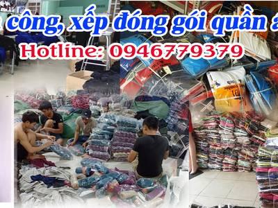 Xưởng may ủi gia công đóng gói quần áo thời trang tại các quận bình tân, tân bình, tân phú, q12 HCM 0