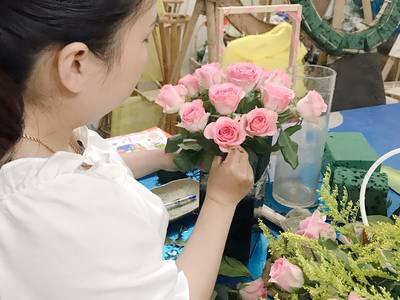 Dạy cắm hoa mở shop tại Đà nẵng 1
