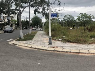 Bán nhanh lô kề góc mặt tiền đường Hóa Sơn 7, khu đô thị SHB, cạnh công viên Châu Á 1
