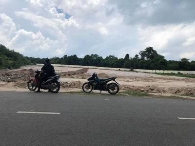 Bán đất thổ cư, sổ đỏ, mặt tiền đường 328 tại ấp Hồ Tràm, 500m2 giá 1 tỷ 850 1