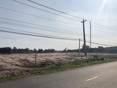 Bán đất thổ cư, sổ đỏ, mặt tiền đường 328 tại ấp Hồ Tràm, 500m2 giá 1 tỷ 850 3
