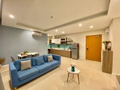 Cho thuê Diamond Island, 90m2, 2PN, full nội thất, giá chỉ 23.5tr/tháng, view sông   ngoại khu 3