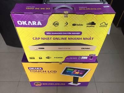 Đầu và màn hình KARAOKE chính hãng OKARA ONLINE 0