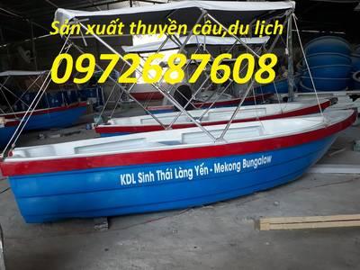 Thuyền composite, xuồng composite 3,12m x 1.3m x 0.5m cho 3 - 4 người 2