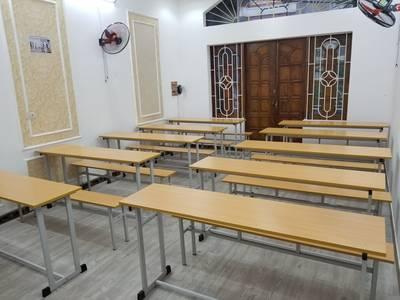 Cho thuê phòng dạy học mới xây mặt đường Quán Nam  gần 3 trường đại học  giá 60.000/1h 0