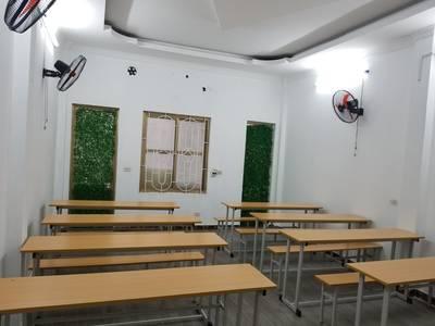 Cho thuê phòng dạy học mới xây mặt đường Quán Nam  gần 3 trường đại học  giá 60.000/1h 1