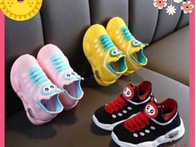 Giày thể thao hoạ tiết đáng yêu cho bé 2