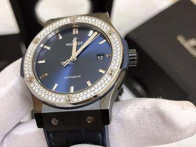 Đồng hồ Hublot Classic Fusion Ceramic Blue 42mm chính hãng fullbox 99 0