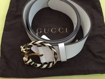 Thắt lưng GUCCI White authentic italy new 100. . 2