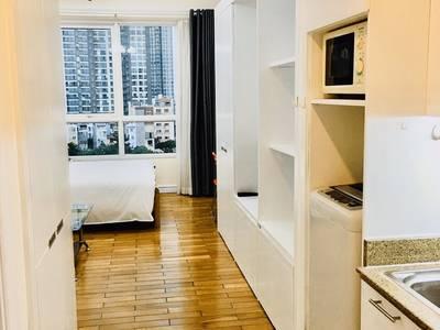 Cho thuê căn hộ Studio   The Manor, nhà đẹp, nội thất trắng sáng, view thoáng 2