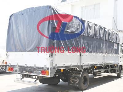 Xe tải mui bạt 6 tấn 2 chân tổng tải 11 tấn 3