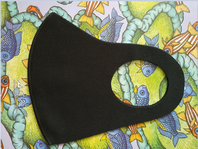 Khẩu trang vải cao cấp Blueming 2