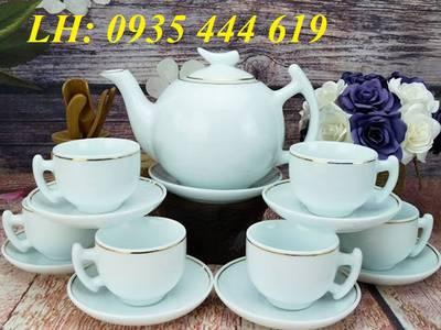 Ấm trà quà tặng khách hàng, ấm trà in logo quảng cáo tại Đà Nẵng 1