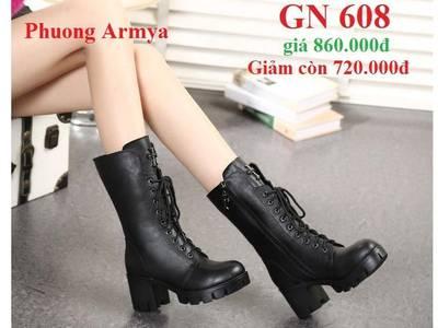 Giày Boot GN-608 cực sành điệu cực ngầu 0