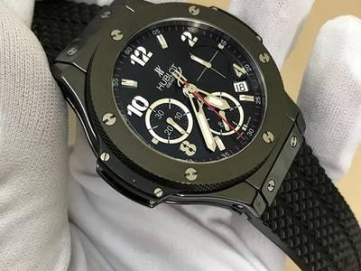 Đồng hồ Hublot Bigbang Chronograph Black Magic Ceramic 41 mm 3