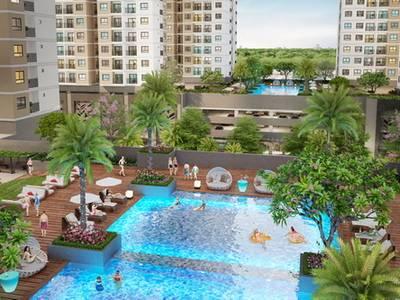 Căn hộ V2.28.02 Q7 Saigon Riverside 2PN tầng cao view đẹp giá sát CĐT 2
