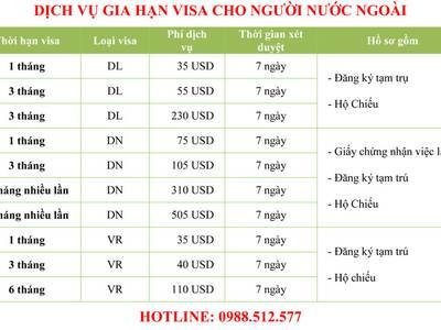 Dịch vụ gia hạn visa Việt Nam cho người nước ngoài 0