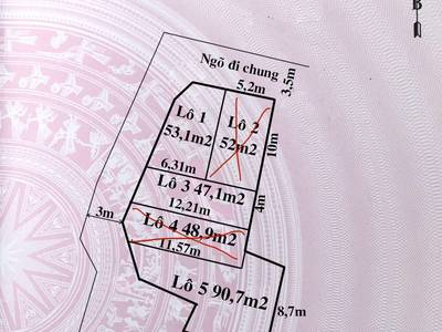 Chưa đến 600 triệu có thể sở hữu lô đất ngõ 3,5m tại Cam Lộ, Hùng Vương, Hồng Bàng, Hải Phòng 2