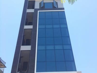Cho thuê gấp     Nhà mới đẹp khu Văn Cao 75m x 8 tầng có thang máy 60 triệu/tháng, ô tô tránh, kinh 0
