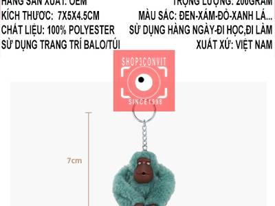 Móc khóa khỉ Kipling 0