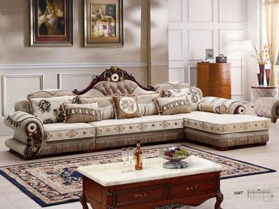 Giá sofa tân cổ điển chữ L tại tphcm, Sofa cổ điển góc L giá rẻ tại quận 2, quận 7 12