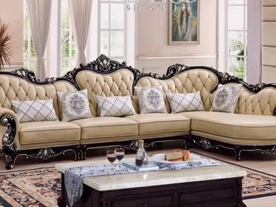 Giá sofa tân cổ điển chữ L tại tphcm, Sofa cổ điển góc L giá rẻ tại quận 2, quận 7 8