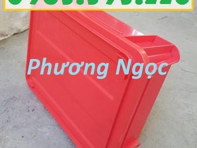 Thùng nhựa đặc B7 có nắp, hộp nhựa cơ khí, khay nhựa đặc 0