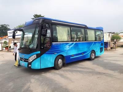 Thaco GARDEN TB79S 29 chỗ tại Thaco Bắc Ninh 1