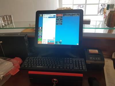 Trọn bộ máy tính tiền dành cho quán cafe tại Trà Vinh giá rẻ 2