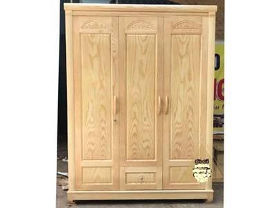 Tủ quần áo 3 buồng gỗ sồi nga 0