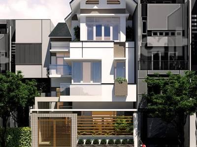 Thiết kế nhà biệt thự 3 tầng tại bình lục - phủ lý- hà nam.Dịch vụ thiết kế nhà đẹp ở hà nam 7