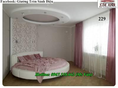 Giường ngủ hình tròn giá rẻ - giường tròn tphcm 5
