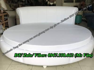 Giường ngủ hình tròn giá rẻ - giường tròn tphcm 2