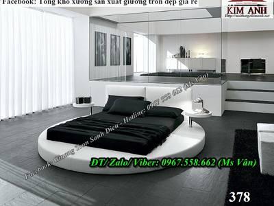 Giường ngủ hình tròn giá rẻ - giường tròn tphcm 12