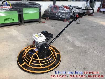 Sử dụng máy xoa nền bê tông đánh bóng bề mặt nền 0