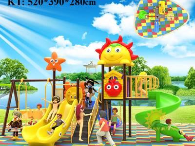 Cung cấp cầu trượt trẻ em cho trường mầm non, công viên, nhà hàng, khách sạn 3