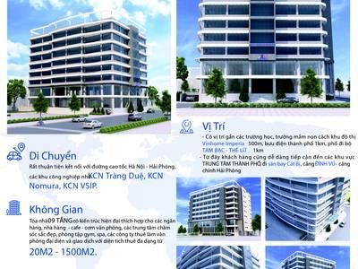 Cho thuê văn phòng, diện tích lên đến 1.600 m2 5