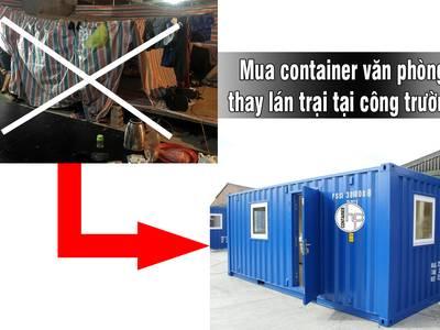 Cho thuê CONTAINER VĂN PHÒNG   hưng phát container 7