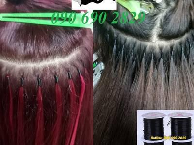 Chỉ nối tóc , chỉ thun, cước lụa 1